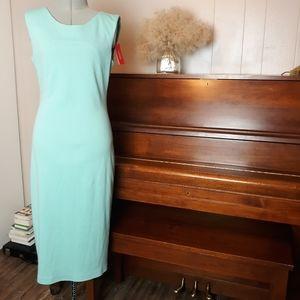 Maiocci mint knit dress